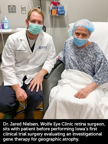 Iowa Geographic Atrophy Treatment | Retina Surgery