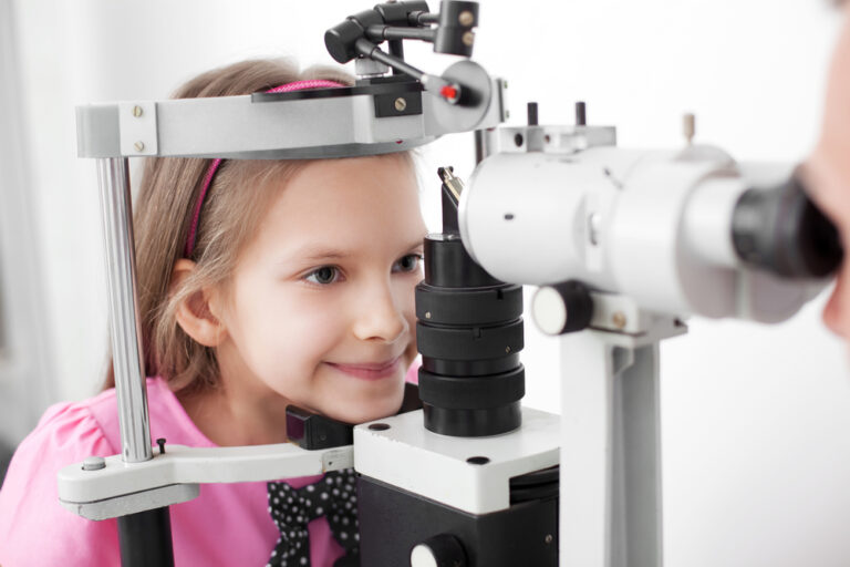 Wolfe Eye Clinic Childhood Eye Exam in Iowa